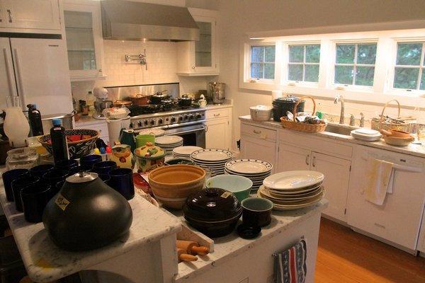 estate sale kitchen