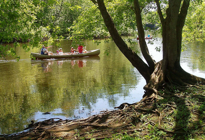 Concord_River_with_canoes,_July_2005.jpeg