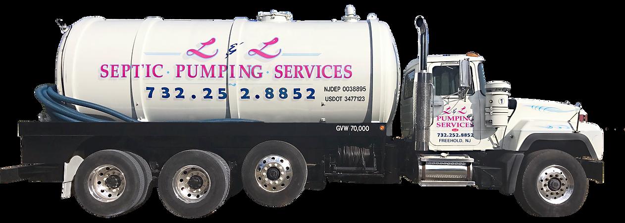 L & L Septic Pumping Truck