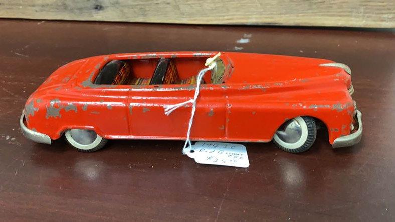 West Germany Tin Toy Rough Shape