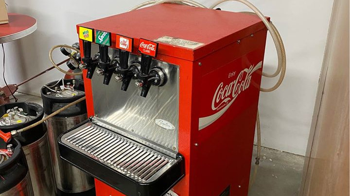 Vintage Coca Cola Fountain Machine