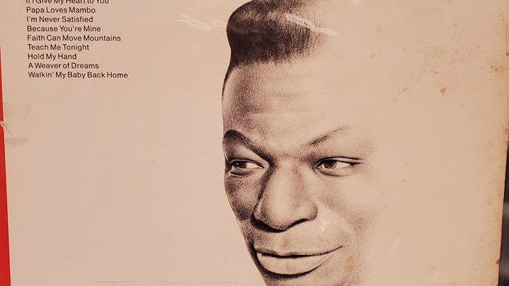 Nat King Cole - Walking My Baby Back Home - Record