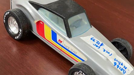 Vintage Nylint Metal Toy Race Car