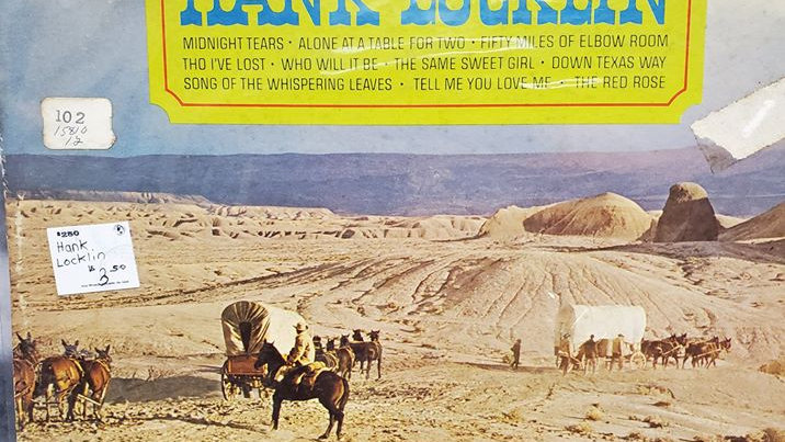 Hank Locklin-Down Texas Way - Record