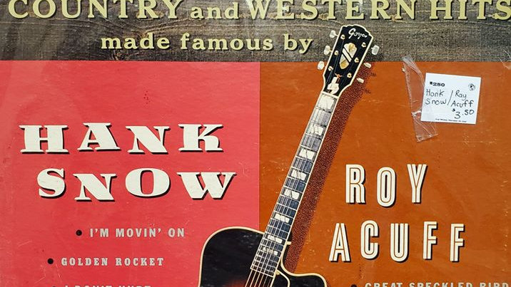 Hank Snow & Roy Acuff - Country Western Hits - Record