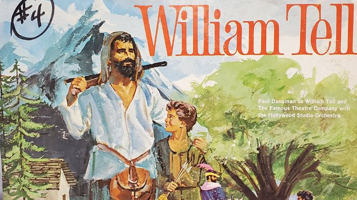 William Tell - Tale Spinner for Children - Record