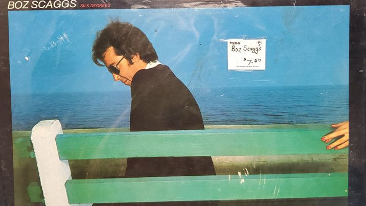 Boz Scaggs - Silk Degrees - Record