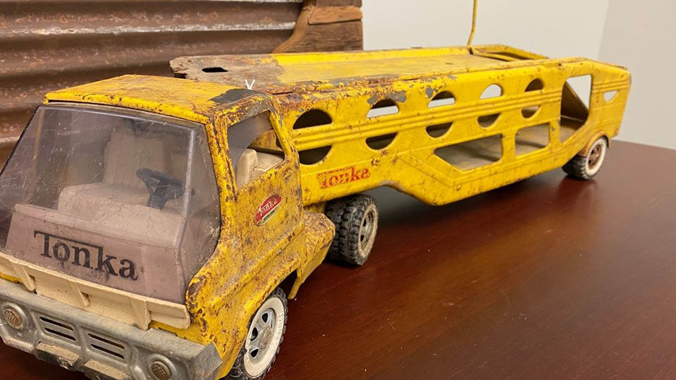 Vintage Large Tonka Car Hauler