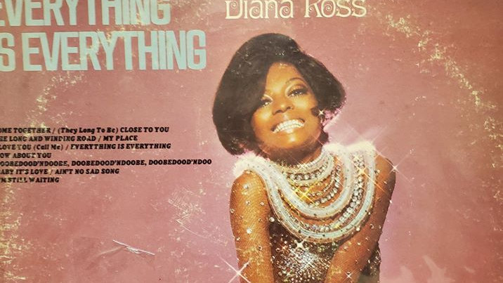 Diana Ross - Everything is Everything - Record