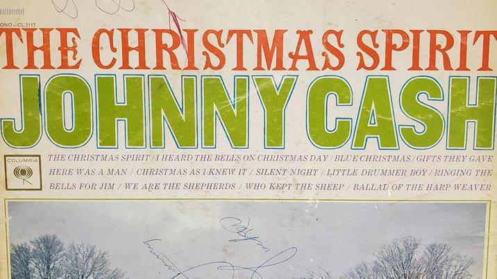 Johnny Cash - The Christmas Spirit - Record