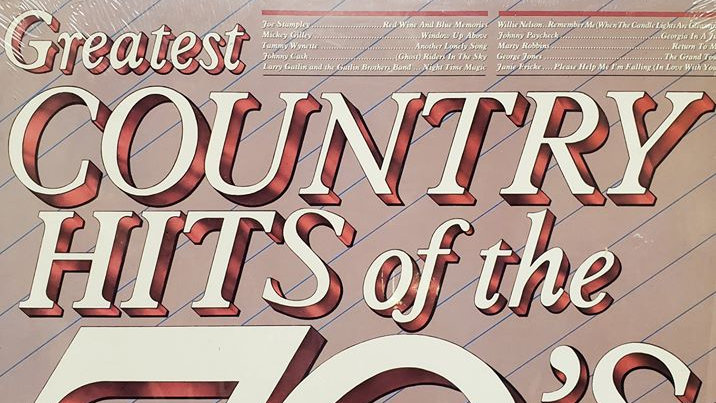 Greatest Country Hits of the 70's - Record
