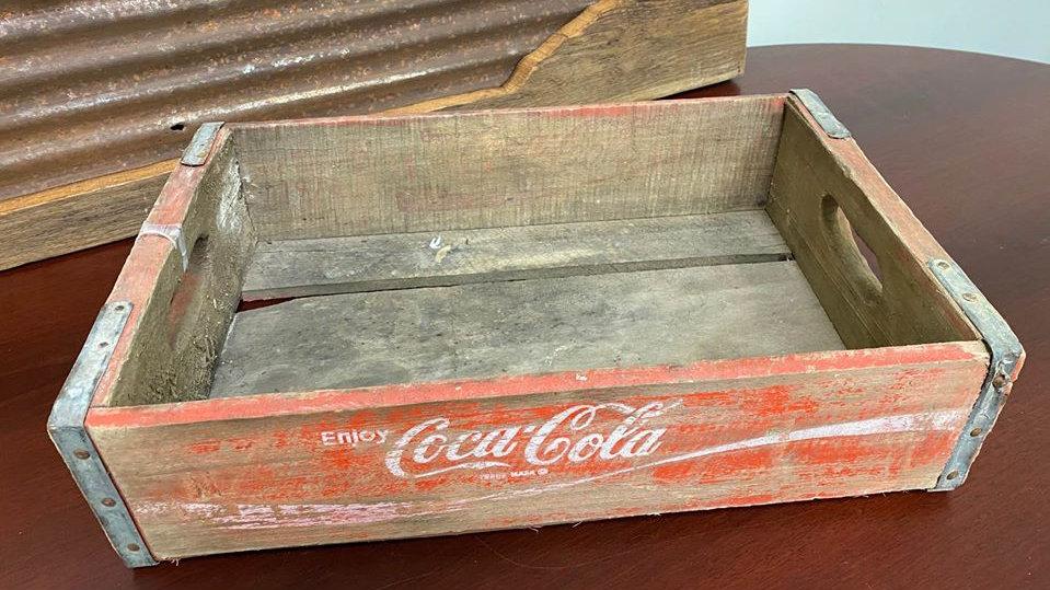 Coca Cola Crate, Vintage