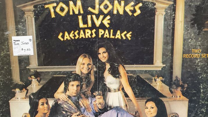 Tom Jones - Live at Caesars Palace - Record