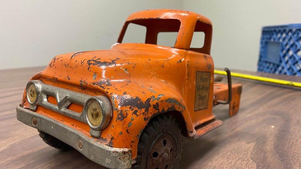 1956 Ford F1 Tonka Dump Truck