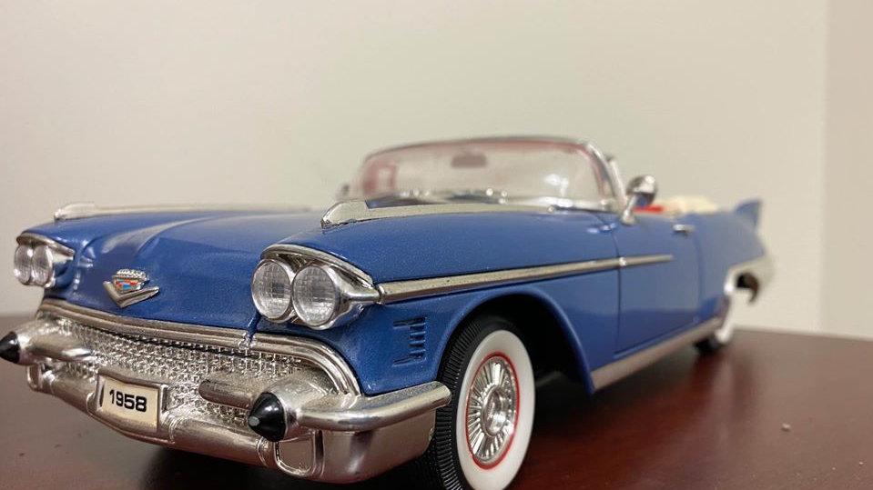 1958 Cadillac Eldorado Convertible 1/18 Diecast