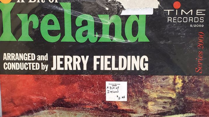 A Bit of Ireland - Conducted by Jerry Fielding - Record