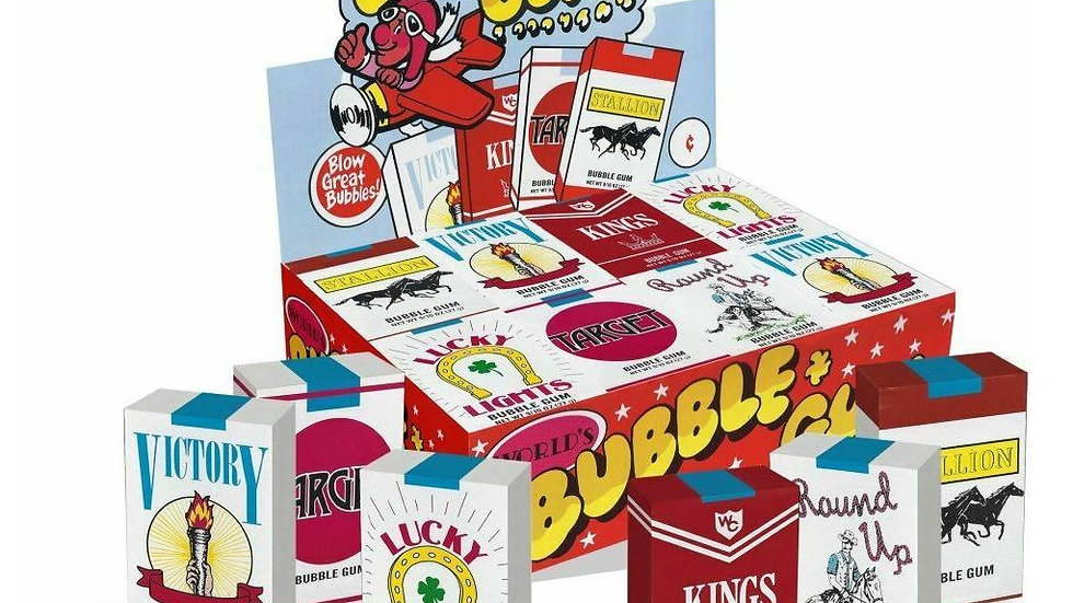 World Bubble Gum Candy Cigarettes
