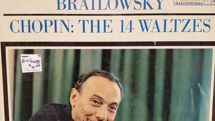 Brailowsky Chopin: The 24 Preludes - Record