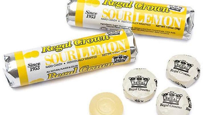 Iconic Regal Crown Sour Lemon Rolls