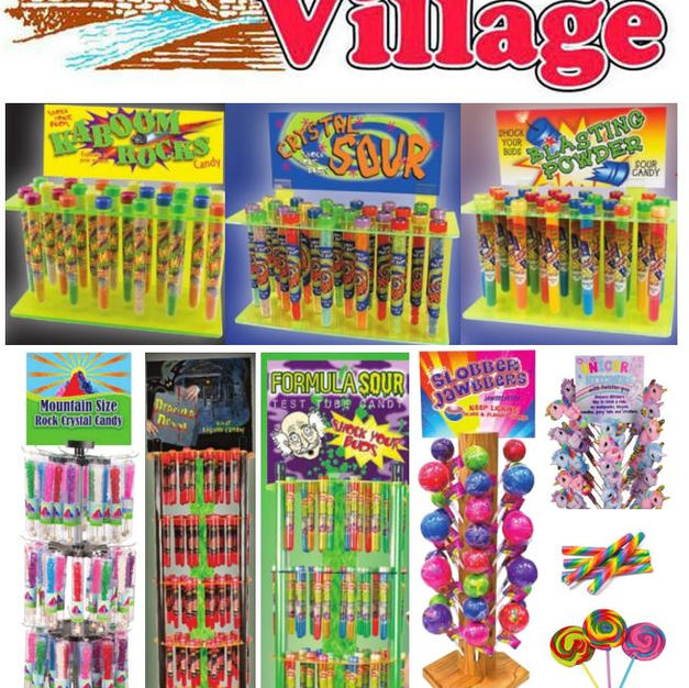 100'S OF CANDY SELECTIONS