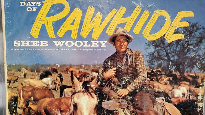 Books, Movies & Music Rawhide - Songs from the day - Record