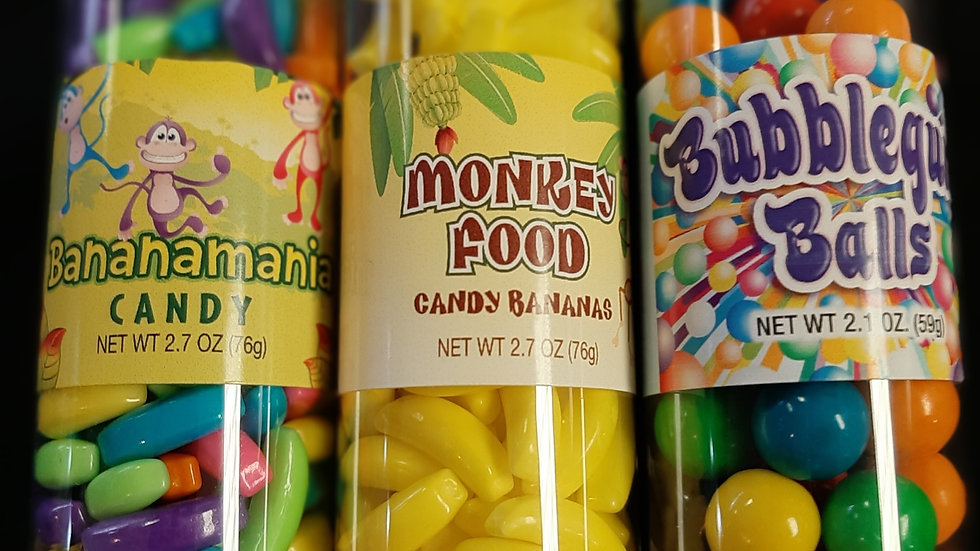 Tubes of Candy - Wide Assortment