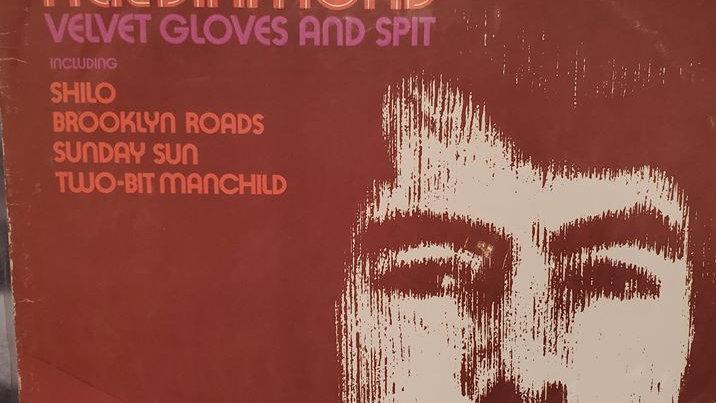 Neil Diamond - Velvet Gloves & Spit - Record