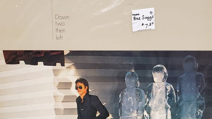 Boz Scaggs - Down Two Then Left - Record