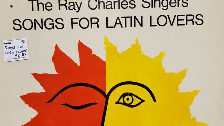 The Ray Charles Singers - Songs for Latin Lovers - Record