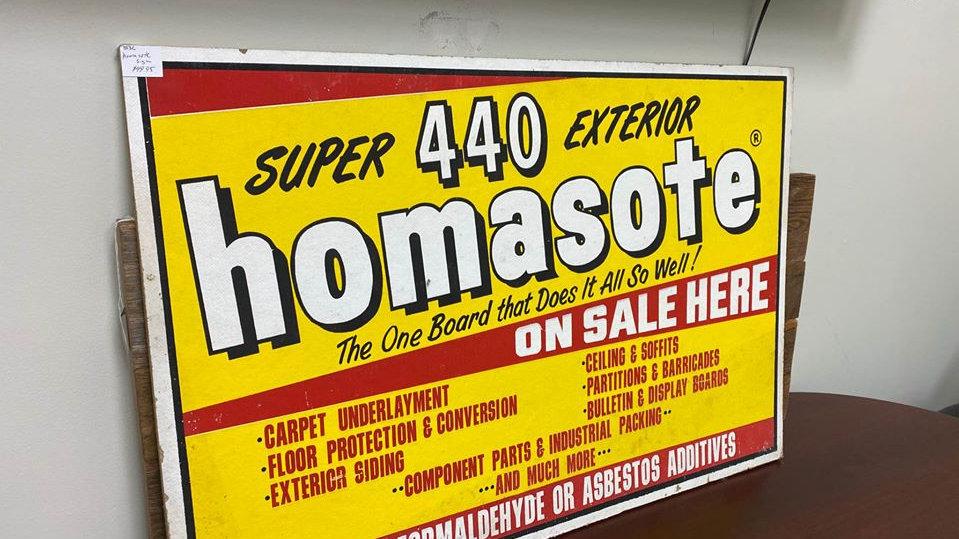 36x24 Homasote Advertising Sign
