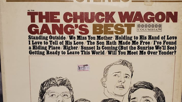 The Chuck Wagon Gang's Best - Record