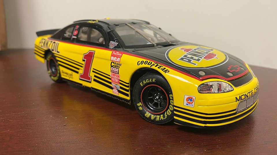 NASCAR #1 Steve Park Pennzoil Monte Carlo Action Collectibles Limited 1/24 Scale