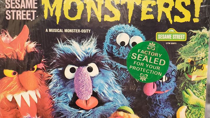 Sesame Street - Monsters! - Record