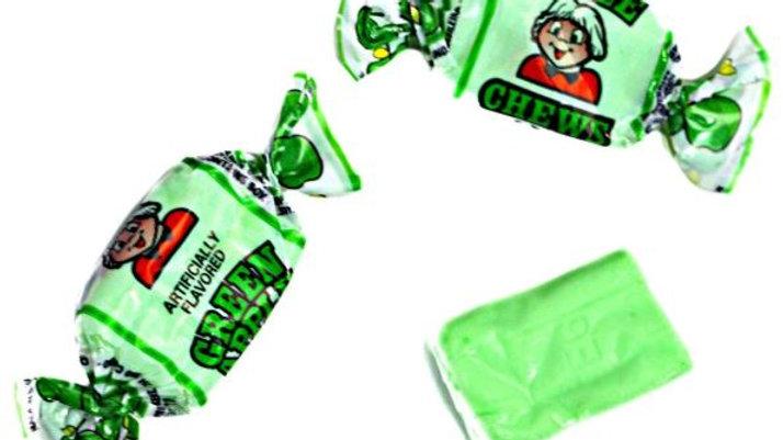 Alberts Fruit Chews Green Apple