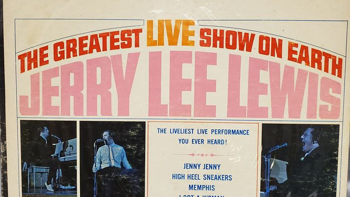 Jerry Lee Lewis - The Greatest Live Show on Earth - Record