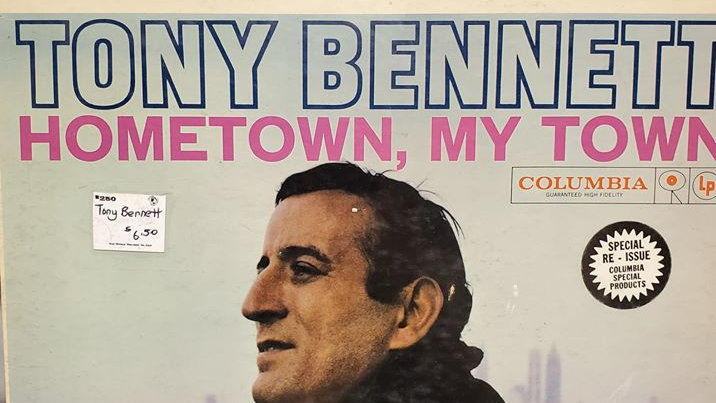 Tony Bennett - Hometown, My Town - Record