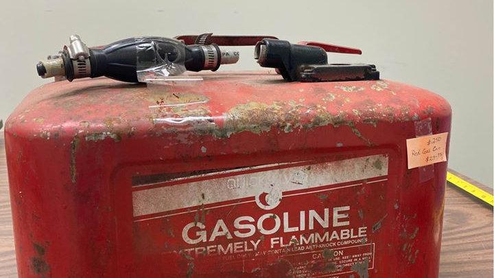 8 Gallon Vintage Marine Gas Tank Fuel Cell