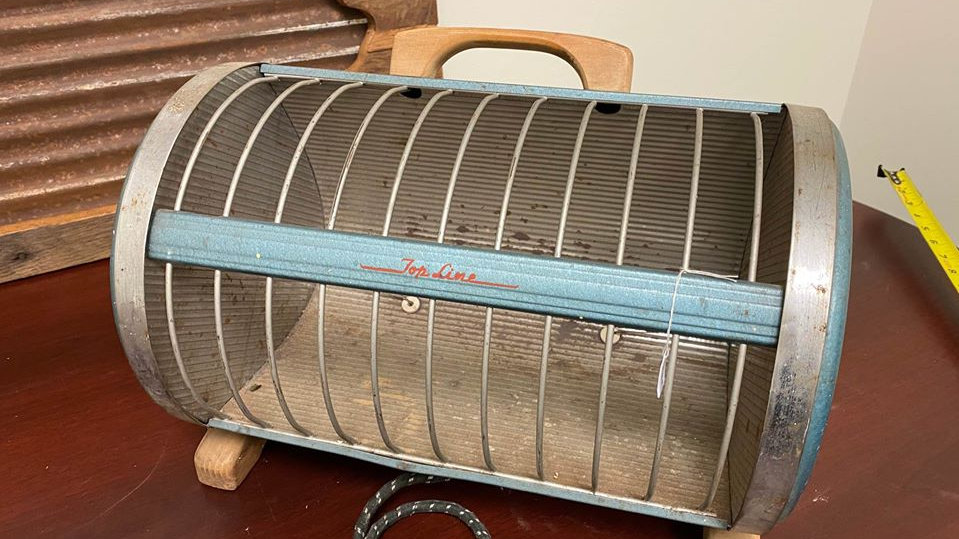 Vintage 1950s Top Line Electric Heater
