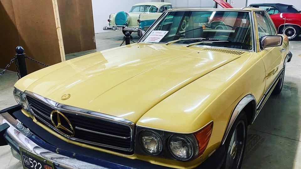 1980 Mercedes SL 450 Convertible