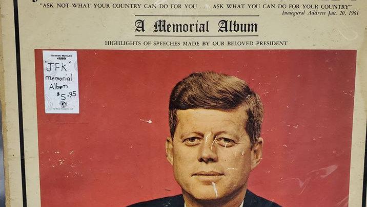 JFK - Memorial Album - Record