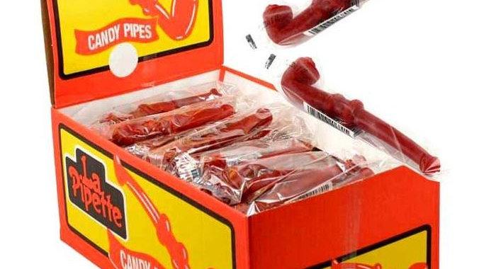 Cherry Licorice Pipes - La Pipette