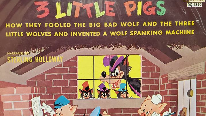 Walt Disney's Three Little Pigs - Record