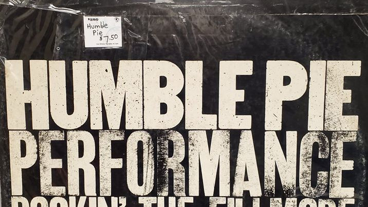 Humble Pie Performance - Rockin' the Fillmore - Record