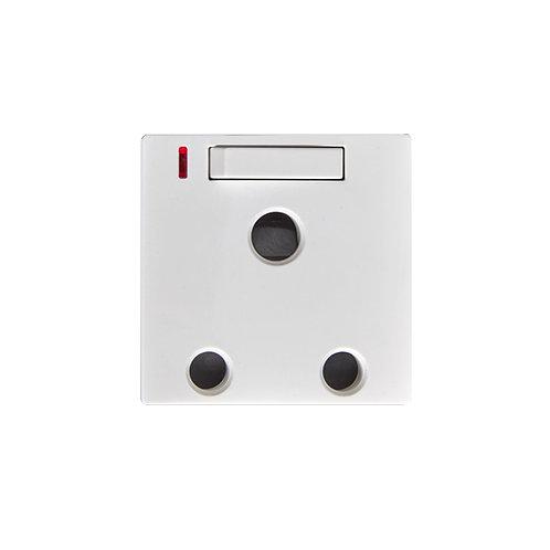 B4.3-15A Socket LA+Switch+Neon
