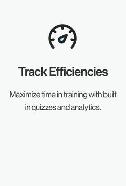 Track Efficiencies