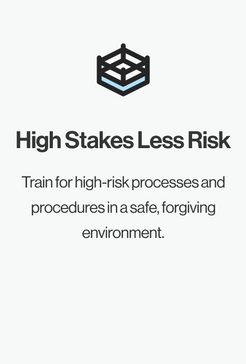 High Stakes Less Risk
