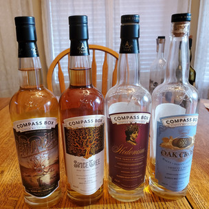 The Compass Box line up