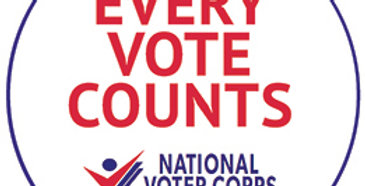 Every Vote Counts Button
