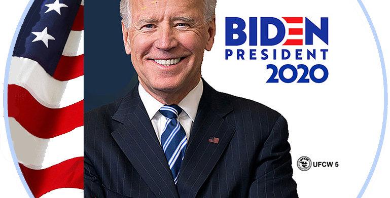 Biden President 2020 Button