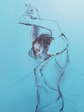 Section sketch of The Passion of The Dance
